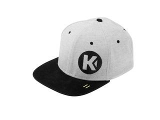 Kempa FLATCAP One Size light grau melange