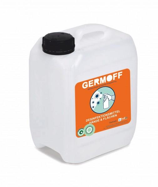 GERMOFF - Desinfektionsmittel 5L Kanister